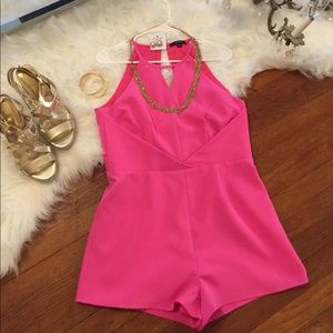 GORGEOUS and CLASSY PINK ROMPER